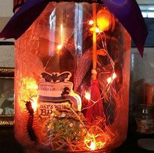 Handmade holiday or any custom jars